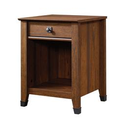 1-Drawer Bedside Lamp Table Modern Nightstand Cabinet Storag
