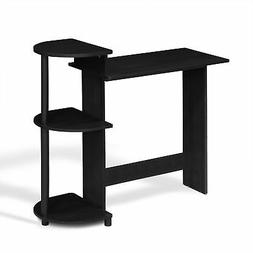 Furinno 10004 End Table/ Night Stand Storage Shelf with Bin