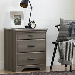 South Shore 10556 Versa Nightstand With Charging Station And
