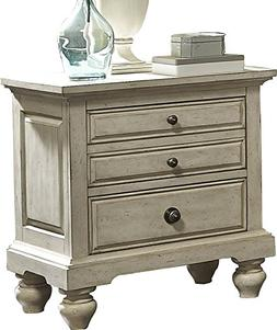2 Drawer Nightstand With Classic and Traditional Style Made