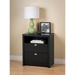 Prepac 2 Drawer Nightstand - BDNH-0529-1