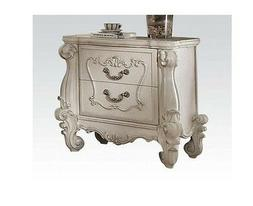ACME Versailles Bone White Nightstand