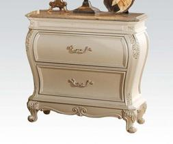Acme Furniture 23543 Chantelle French Rococo Nightstand with