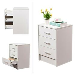 3-Drawer Filing Cabinet File Storage Organizer Home Office W