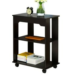 3-Tier End Table Side Sofa Night Stand Storage Display Shelf