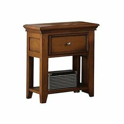 ACME Furniture 30558 Lacey Nightstand with 1 Drawer, Cherry