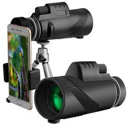 40X60 Durable High-power BAK4 Telescope With Fast Smartphone