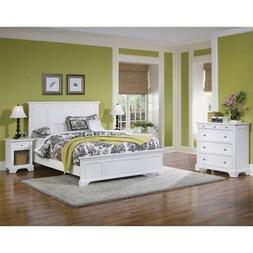 Home Styles 5530-5014 Naples Queen Bed, Night Stand and Ches