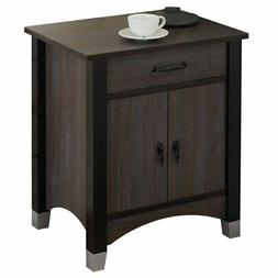 ACME Furniture 97260 Calp Nightstand, Gray Oak, One Size