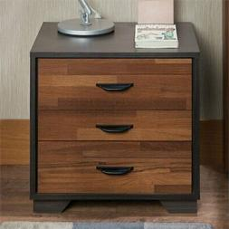 Acme Furniture 97340 Eloy Nightstand, One Size, Walnut