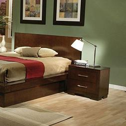 Coaster Home Furnishings 200712 Contemporary Nightstand Capp