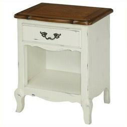 Home Styles 5518-42 The French Countryside Night Stand, Oak/