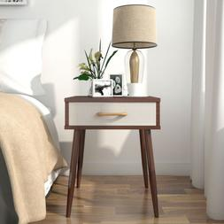 Lifewit Nightstand Side End Table Coffee Sofa Table with Gre