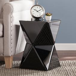 Modern Night Stand Side Table Mirrored Accent Lamp Bed Livin
