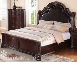 King Size 3 pc Sheridan Cherry Bedroom Set NEW Furniture! Be