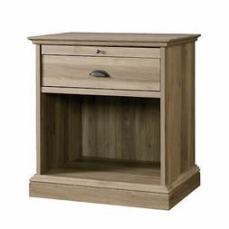 "Sauder 418705 Barrister Lane Night Stand L: 25.98"" x W: 19.4"