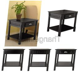Winsome Wood 20124 Timber Occasional Table, Black