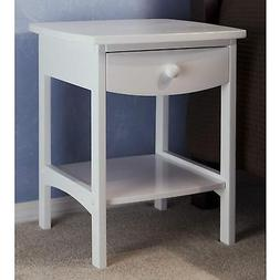 Winsome Wood End Table/Night Stand with Drawer and Shelf, Na