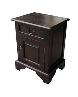 NES Furniture abc10023 Dhevta Nightstand Fine Handcrafted So
