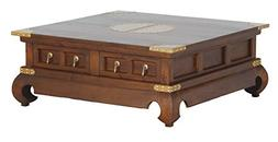 NES Furniture abc10201 Ming Coffee Table Fine Handcrafted So