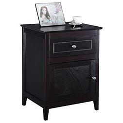 Accent End Table Nightstand Bedroom Living Room Furniture Es