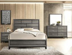 Crown Mark AKERSON GREY Queen Bedroom Set - HOUSTON ONLY!
