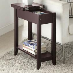 Convenience Concepts American Heritage Flip Top End Table, E
