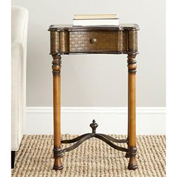 Safavieh American Homes Collection Denise Brown End Table