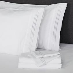 Furinno Angeland Vienne 3-Piece Microfiber Bed Sheet and Pil