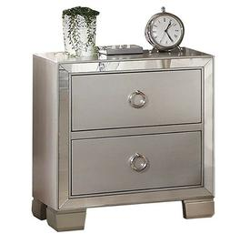 Arabella Mirrored 15 in. Night Stand
