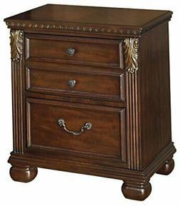 ashley furniture signature design leahlyn nightstand antique
