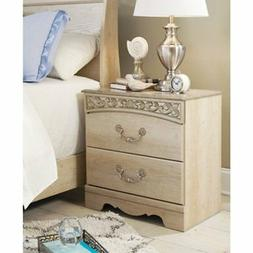 Signature Design by Ashley B196-92 Catalina Two Drawer Night