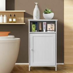 bathroom floor storage cabinet side table adjustable
