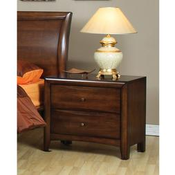 1PerfectChoice Bedroom Hillary Simple Night Stand Nightstand