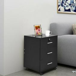 Bedroom Set of 2/1 Night Stand Bedside Table Furniture Stora