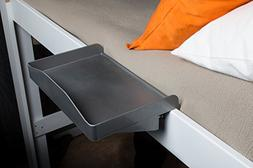 Bunk Buddy Bedside Shelf-Gray