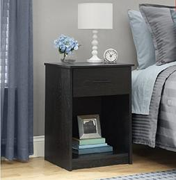 Small Bedside Table / Elegant 1-Drawer Nightstand / Small En