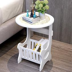Bedside End Table Nightstand Chair Side Coffee Table - Moder