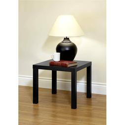 Black End Table Bedside Night Stand Side Nightstand Dorm Hom