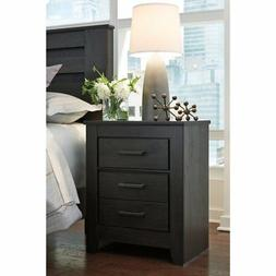 Signature Design by Ashley B249-92 Brinxton Nightstand, Blac