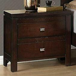 Coaster Home Furnishings Cameron 2-Drawer Nightstand Rich Br