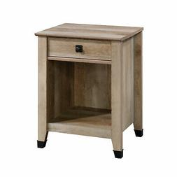 Sauder Carson Forge 1 Drawer Nightstand in Lintel Oak