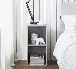 The College Cube - Nightstand - Marble Gray