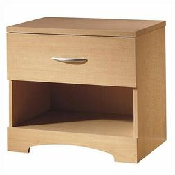 South Shore Contemporary Natural Maple Night Table 3113062