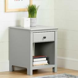 cotton candy 1 drawer nightstand