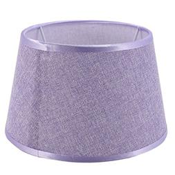Cotton Lamp Shade PVC Linen Soft Light for Table Lamp Nights