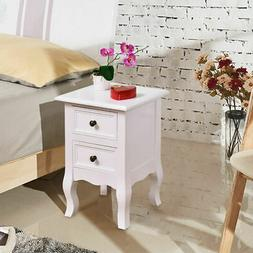 Curved Legs Accent Side End Table Nigh stand Furniture Bedro