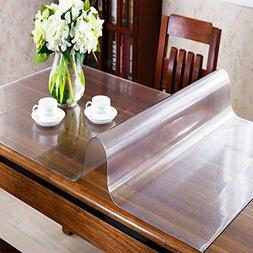 OstepDecor Custom 1.5mm Thick Frosted Table Protector - 63 x