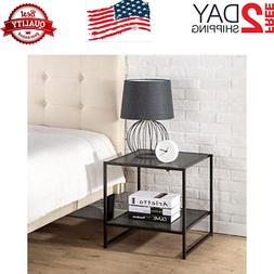 Dane Modern Studio Collection 20 Inch Square Side End Table