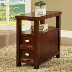 Dempsey Chairside End Table By Crown Mark Furniture